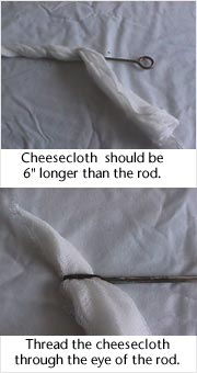 Trombone Cleaning Cheesecloth