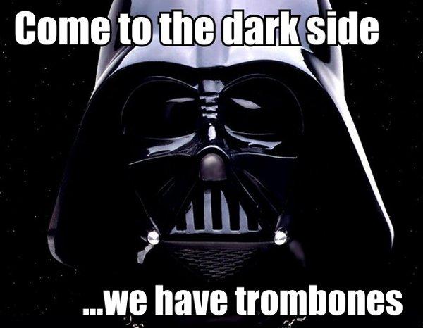 Trombone Darth Vader