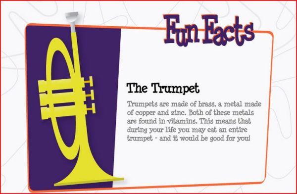Trumpet Fun Facts