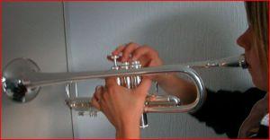 Trumpet Left Hand Position