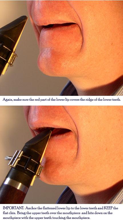 Clarinet Embouchure 1