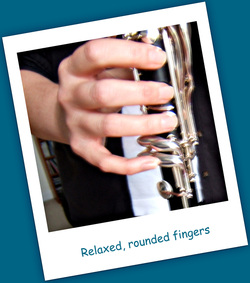 Clarinet Right Hand Position