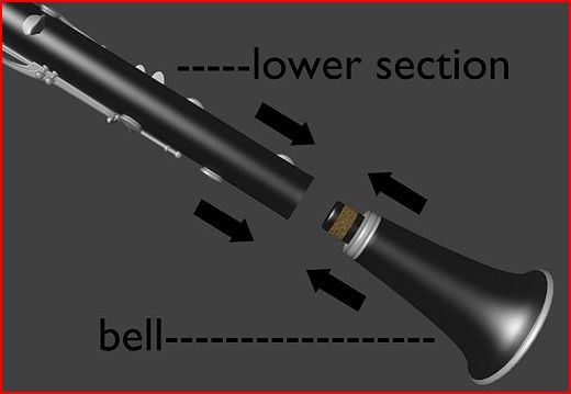 Clarinet-Bell attachment