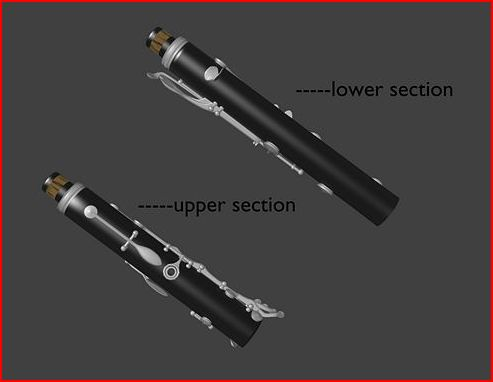 Clarinet-Upper and Lower Parts